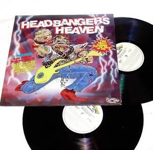 Hard Rock - Metal Classics - Headbangers Heaven 2x Vinyl '86 JG1 Eastern Creek Blacktown Area Preview
