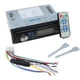 Car Stereo Audio In-Dash FM Aux Input Receiver with TF USB MP3 Radio Player New