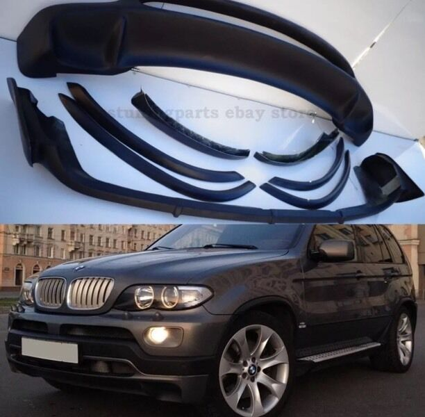 BMW X5 E53 All Models 4.8 Is Style/replica Body Kit 2000