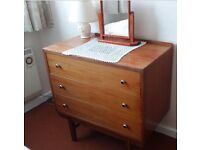 3 piece furniture suite- Double wardrobe & dressing table & chest of drawers