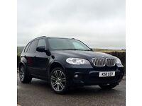 BMW X5 40D XDRIVE M SPORT 2011 FSH 12MONTHS MOT 2xKEYS FULLY LOADED SPEC::::::