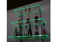 bar regal led beleuchtet ideal f r flaschen oder gl ser in nordrhein westfalen wermelskirchen. Black Bedroom Furniture Sets. Home Design Ideas