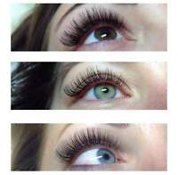 EYELASH EXTENSION RUSSIAN VOLUME (MOBILE SERVICE)