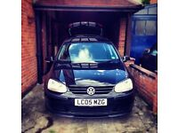 VW golf mrk 5 1.9 TDI 05 plate for sale.