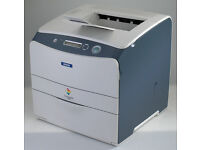 Colour Laser Printer Epson, USB or network, spare or repair