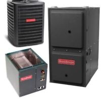 NEW FURNACE OR AC FOR $1450 AFTER GOVERNMENT REBATES