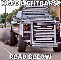 """13"""" 100$!!! 22"""" 130$!!! LED LIGHT BAR LOCATED IN MONCTON"""