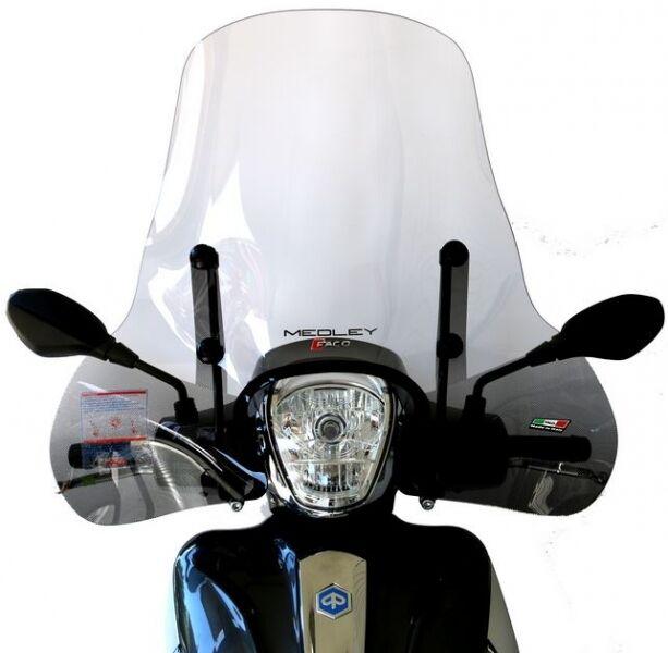 windscreen windshield flyscreen piaggio medley 125 150 kit fitting