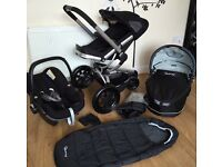 Great deal for more than half price!!! Quinny Buzz 3 travel system with car seat