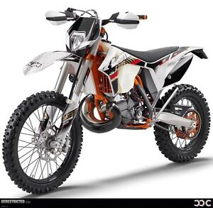 Looking for Ktm 250/300 xcw