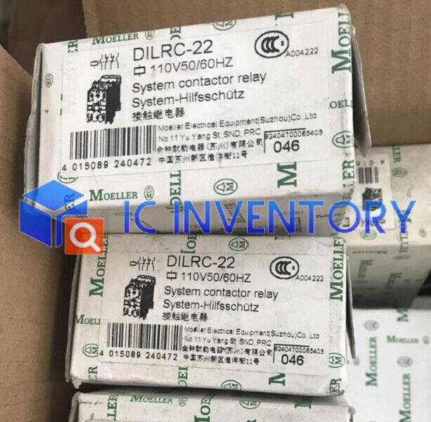 1PCS NEW Eaton Moeller Contactor DILRC-22 DC110V
