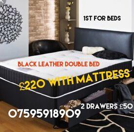 Bed mattress Chesterfeild sofa mirror
