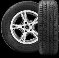 4 PNEUS d'occasion à vendre $275 - Tires for sale w/wo MAGS