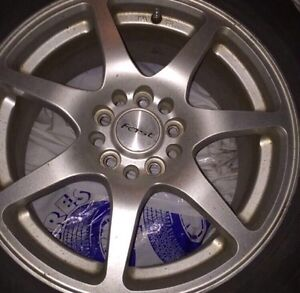 Michelin All Season tires 215/60/R16 With Fast Sporty Alloys