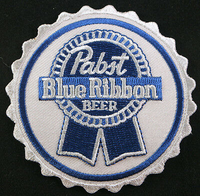 Pabst Blue Ribbon Beer Patch, American, Iron on Badge