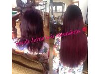 mobile hair extension specialist