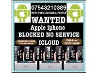 Wanted iPhone N O Signal Faulty CASH PAID NOW