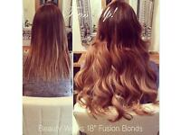 TRESS UP! Professional Hair Extensions. Fusion Bond, MicroRing & LA Weave. BEAUTY WORKS, FABULONG!