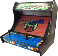Arcade Bartop Cabinet with 619 in 1 JAMMA PCB & 90 Day Warranty