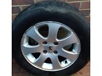 "15"" Peugeot 307 alloy wheel"