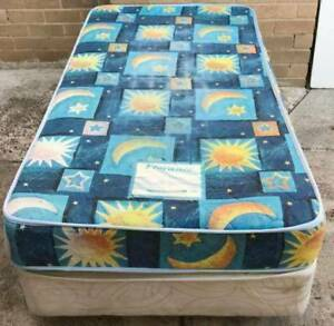 Good condition single bed base with mattress. Delivery available Kingsbury Darebin Area Preview