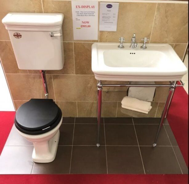Ex-Display Imperial WC & Basin