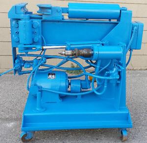 muffler machine