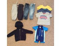 Boys Bundle Of Clothes 6-9 Months