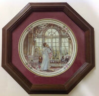Trisha Romance Collectible Plate Bright Eyes-Framed and Numbered