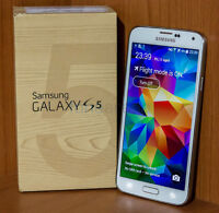 BRAND NEW NEVER ACTIVATED SAMSUNG GALAXY S5 TRADE OR SALE