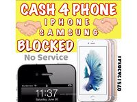 Wanted iPhone 6s 7 6 6s plus 6 7 plus faulty new used liquid damage N o service broken iCloud b.lock