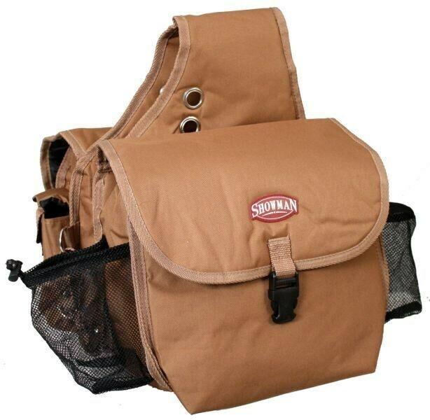 Showman BROWN Cordura Nylon Western Insulated Saddle Bag! NE