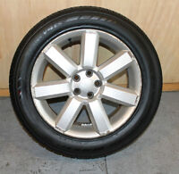4 alloy wheels and NEW tires
