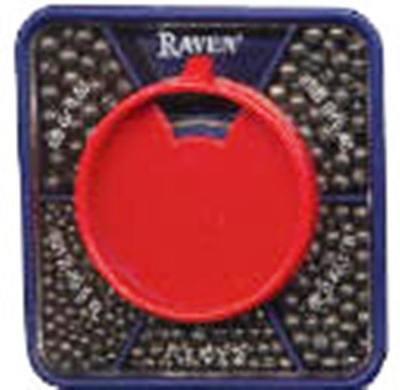 Raven 5 Part Split Shot Dispener $2.50 US Combined Shipping