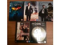 5 limited edition top dvds £3.50