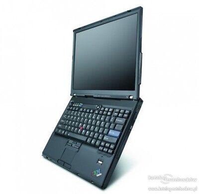 BUSINESS NOTEBOOK  IBM LENOVO THINKPAD T60  1.83Gh 2GB 40GB DVD  WIN XP PRO