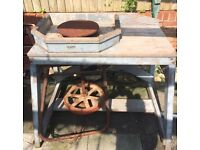 Pottery Wheel Tabel