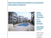 For Sale Duplex 2 bed apartment in Side ,Turkey