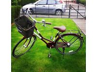 Classic Vintage Style Bicycle with basket