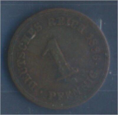Deutsches Reich Jägernr: 1 1886 E sehr schön Bronze 1886 1 Pfennig (7849198