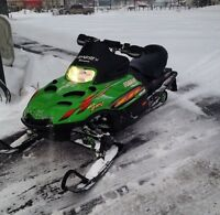 Arctic cat zr 600 in 440 chassis