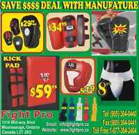 MARTIAL ARTS, BOXING, MMA SUPPLIES FOR PERSONAL TRAINER. BIG DIS