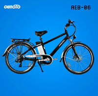 CEMOTO Electric Bicycles are back for SUMMER 2015! Free Shipping