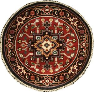 HERIZ ROUND 3X3 Handknotted Persian Rugs Largest Inventory