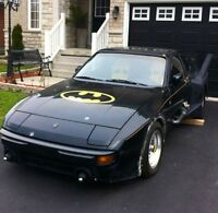 Porsche 944 Batmobile (LOOK here Batman)