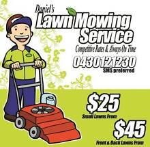 Daniel's lawn mowing service Armadale Armadale Area Preview