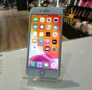 AS NEW IPHONE 8 PLUS 256GB SILVER WITH WARRANTY