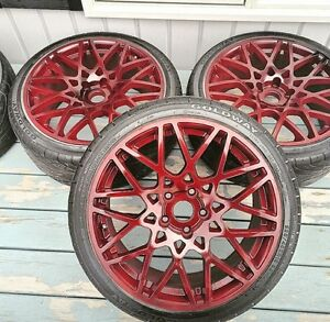 Quality wheel painting and refinishing $160 per set