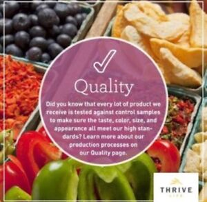 Thrive Life (freeze dried foods) Stratford Kitchener Area image 9