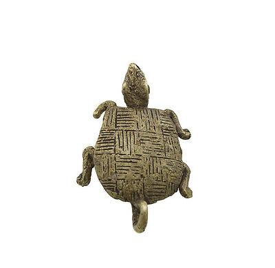 Pendant or Door Keys African Ashanti Tribale Tortoise Bronze 6039